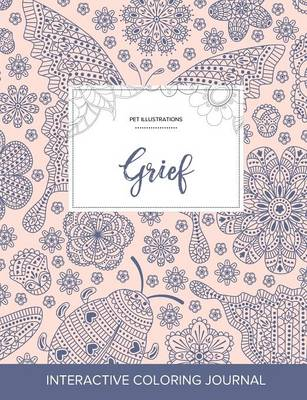 Adult Coloring Journal: Grief (Pet Illustrations, Ladybug) (Paperback)