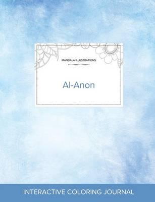 Adult Coloring Journal: Al-Anon (Mandala Illustrations, Clear Skies) (Paperback)