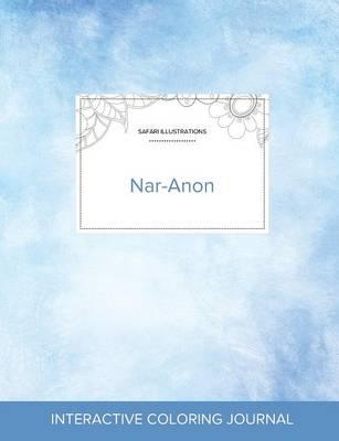 Adult Coloring Journal: Nar-Anon (Safari Illustrations, Clear Skies) (Paperback)