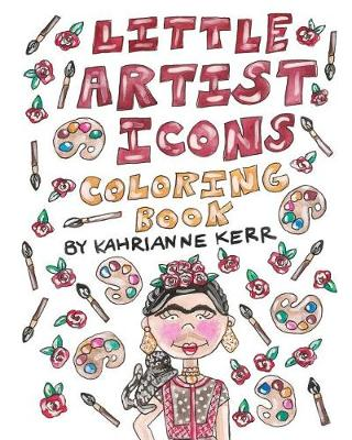 Little Artist Icons Coloring Book (Paperback)