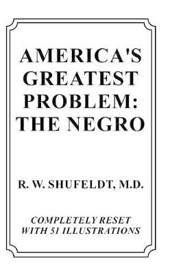 America's Greatest Problem: The Negro (Hardback)