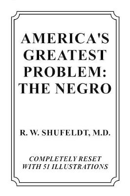America's Greatest Problem: The Negro (Paperback)