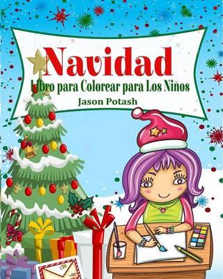 Navidad Libro Para Colorear Para Los Ni�os (Paperback)