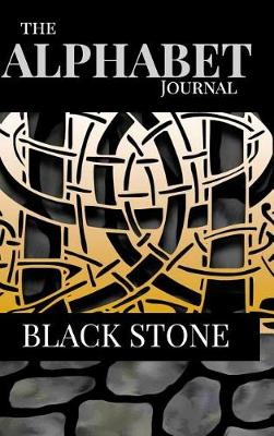 The Alphabet Journal - Black Stone (Hardback)