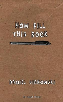How Fill This Book (Paperback)