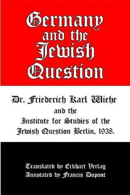 Germany and the Jewish Question (Paperback)