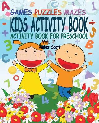 Kids Activity Book ( Activity Book for Preschool) - Vol. 2 (Paperback)
