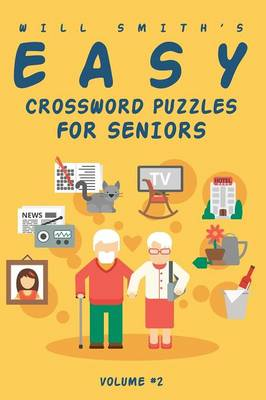 Will Smith Easy Crossword Puzzle for Seniors - Volume 2 (Paperback)
