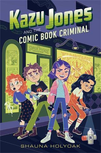 Kazu Jones and the Comic Book Criminal (Hardback)