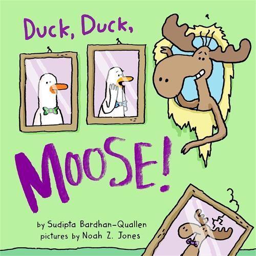 Duck, Duck, Moose! (Board book)
