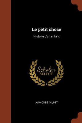 Le Petit Chose: Histoire D'Un Enfant (Paperback)