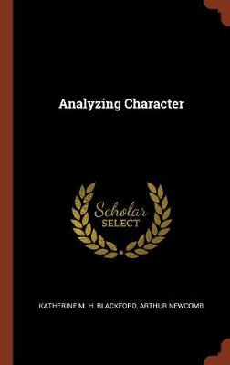 Analyzing Character (Hardback)