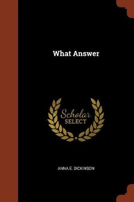 What Answer (Paperback)