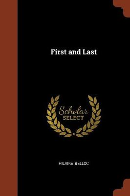 First and Last (Paperback)