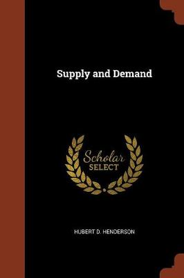 Supply and Demand (Paperback)