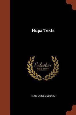 Hupa Texts (Paperback)