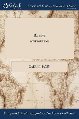 Barnave; Tome Deuxieme (Paperback)