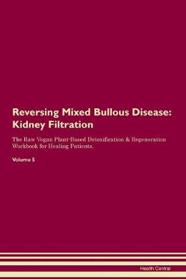 Reversing Mixed Bullous Disease: Kidney Filtration The Raw Vegan Plant-Based Detoxification & Regeneration Workbook for Healing Patients. Volume 5 (Paperback)