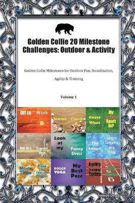 Golden Collie 20 Milestone Challenges: Outdoor & Activity Golden Collie Milestones for Outdoor Fun, Socialization, Agility & Training Volume 1 (Paperback)