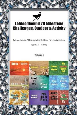 Labloodhound 20 Milestone Challenges: Outdoor & Activity Labloodhound Milestones for Outdoor Fun, Socialization, Agility & Training Volume 1 (Paperback)