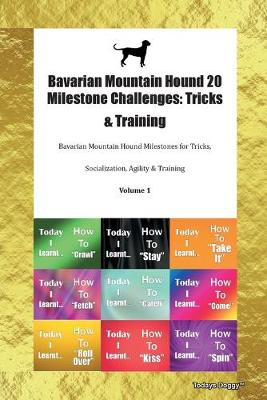 Bavarian Mountain Hound 20 Milestone Challenges: Tricks & Training Bavarian Mountain Hound Milestones for Tricks, Socialization, Agility & Training Volume 1 (Paperback)