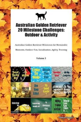 Australian Golden Retriever 20 Milestone Challenges: Outdoor & Activity Australian Golden Retriever Milestones for Memorable Moments, Outdoor Fun, Socialization, Agility, Training Volume 3 (Paperback)
