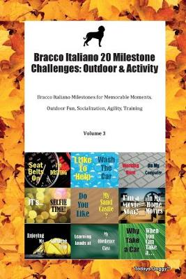 Bracco Italiano 20 Milestone Challenges: Outdoor & Activity Bracco Italiano Milestones for Memorable Moments, Outdoor Fun, Socialization, Agility, Training Volume 3 (Paperback)