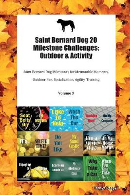 Saint Bernard Dog 20 Milestone Challenges: Outdoor & Activity Saint Bernard Dog Milestones for Memorable Moments, Outdoor Fun, Socialization, Agility, Training Volume 3 (Paperback)