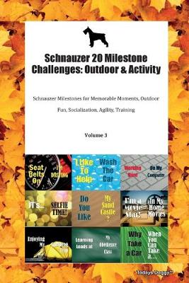 Schnauzer 20 Milestone Challenges: Outdoor & Activity Schnauzer Milestones for Memorable Moments, Outdoor Fun, Socialization, Agility, Training Volume 3 (Paperback)