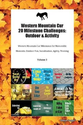 Western Mountain Cur 20 Milestone Challenges: Outdoor & Activity Western Mountain Cur Milestones for Memorable Moments, Outdoor Fun, Socialization, Agility, Training Volume 3 (Paperback)
