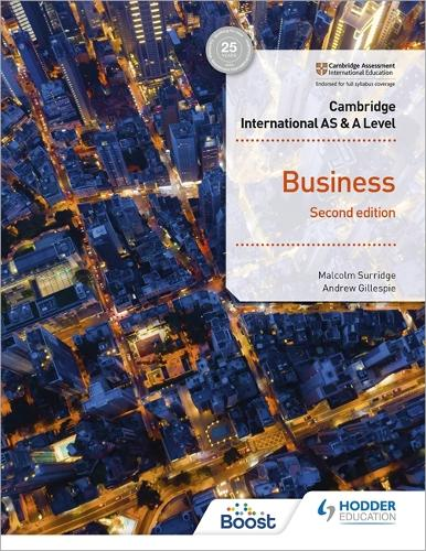 Cambridge International AS & A Level Business Second Edition (Paperback)
