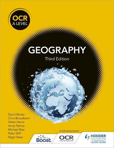 OCR A Level Geography Third Edition (Paperback)