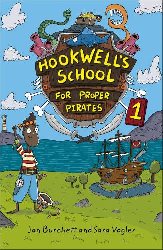 Reading Planet: Astro - Hookwell's School for Proper Pirates 1 - Stars/Turquoise band (Paperback)