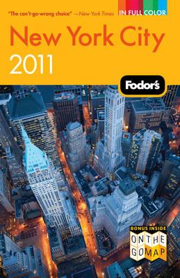 Fodor's New York City 2011 (Paperback)