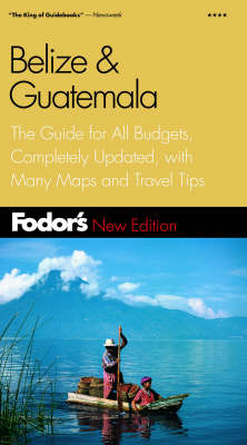 Belize and Guatemala - Gold guide (Paperback)
