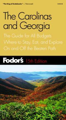The Carolinas and Georgia - Gold Guides (Paperback)