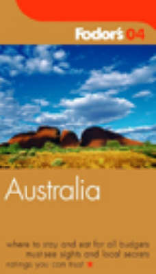 Australia 2004 - Gold Guides (Paperback)