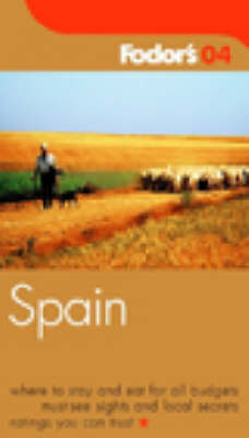 Spain 2004 - Gold Guides (Paperback)