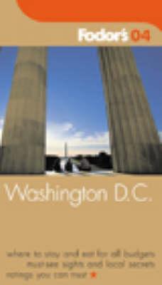 Fodor's Washington DC 2004 (Paperback)