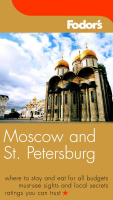 Moscow and St.Petersburg - Gold Guides (Paperback)
