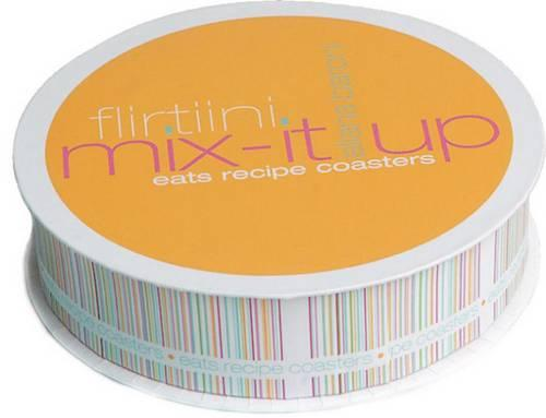 Flirtini Mix-It-Up Eats Recipe Coasters - Potter Style