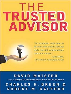 The Trusted Advisor (CD-Audio)