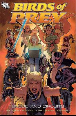 Birds Of Prey Blood And Circuits TP (Paperback)