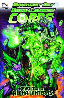 Green Lantern Corps Revolt Of Alpha Lanterns HC (Hardback)