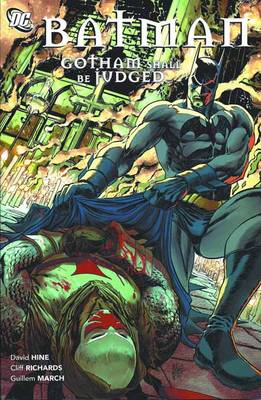 Batman Gotham Shall Be Judged TP (Paperback)