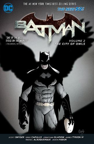 Batman Vol. 2 The City Of Owls (The New 52) (Paperback)