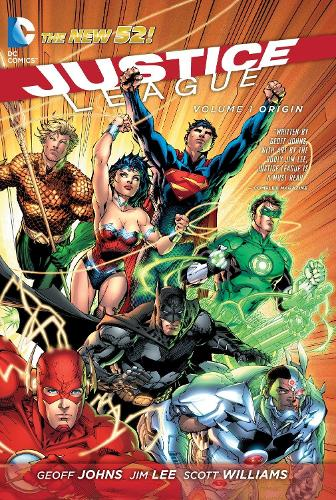 Justice League Vol. 1 Origin (The New 52) (Paperback)