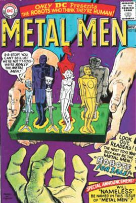 The Metal Men Archives Vol. 2 (Hardback)