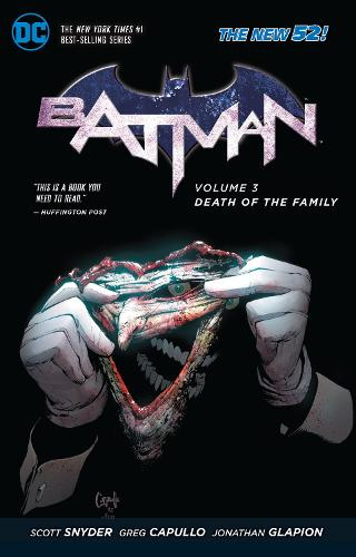 Batman Vol. 3 Death Of The Family (The New 52) (Paperback)