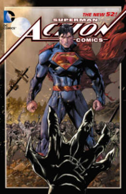 Superman - Action Comics Vol. 4 Hybrid (The New 52) (Hardback)